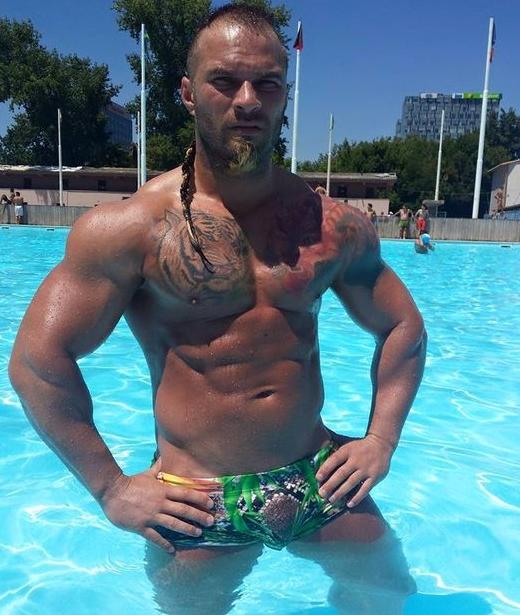 muscular gay boy